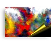 From The Painting Easel #1 Canvas Print