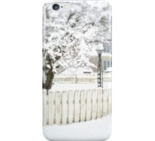 A Snowy Day iPhone Case/Skin