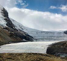 The Athabasca Glacier by Amanda White