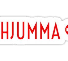 AHJUMMA - WHITE Sticker