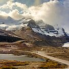 The Athabasca Glacier by Amanda White