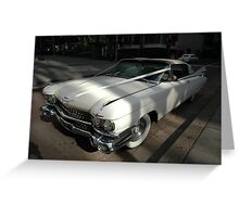 White Cadillac, Sydney, Australia Greeting Card