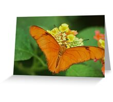 Butterfly from all my heart Greeting Card