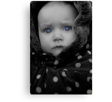 Sapphire Eyes Canvas Print