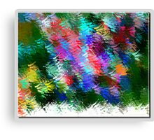 From The Painting Easel #3 Canvas Print
