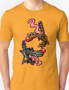 Willy and Wally Wolfy (cartoon wolves) by Cheerful Madness!! T-Shirt