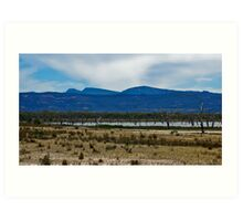 Views of Lake Fyans V04 Art Print