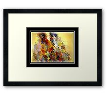 From The Painting Easel #4 Framed Print