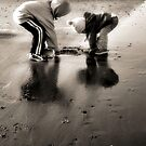 Winter at the Beach by Stacey Dionne