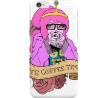 It's Coffee Time (Princess Bubblegum) iPhone Case/Skin