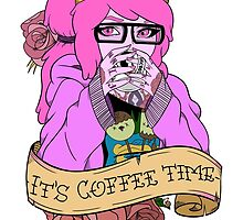 Adventure Time - It's Coffee Time (Princess Bubblegum) by Seignemartin