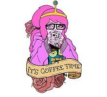 Adventure Time - It's Coffee Time (Princess Bubblegum) Photographic Print