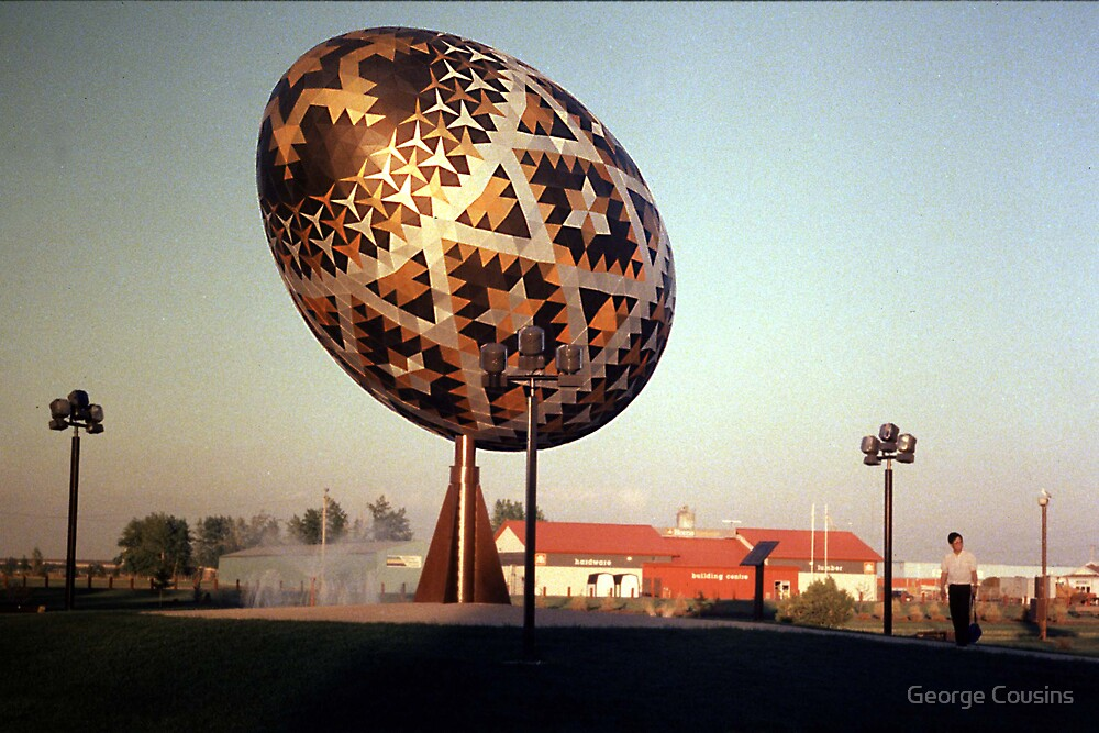 The Biggest Easter Egg by George Cousins