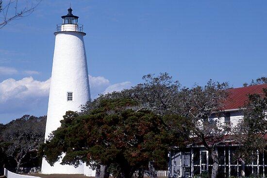 Ocracoke  Lighthouse by Roger Otto