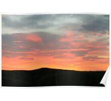 The Burning Skies Poster