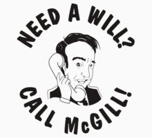 Need a Will? Call McGill! by Théo Proupain
