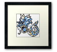 Gyrados GBC Framed Print