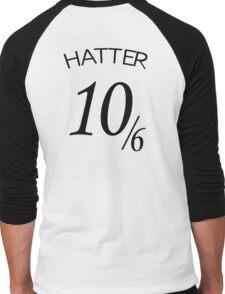 The Hatter (10/6) Men's Baseball ¾ T-Shirt