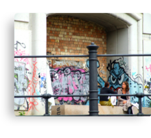 Berlin Graffiti Canvas Print