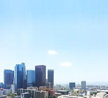 Los Angeles Skyline by kmingee