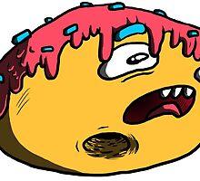 Donut Face by kingthoyle