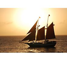 Sunset in Key West Photographic Print