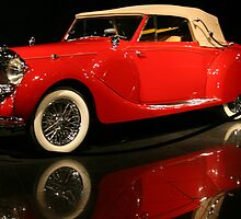 My favorite red car by SassyPhotos