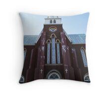 St. Patrick's Church Carbonear,NL. Throw Pillow
