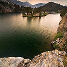 Long Lake, Eastern Sierras by Nolan Nitschke