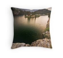 Long Lake, Eastern Sierras Throw Pillow