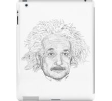 Einstein iPad Case/Skin