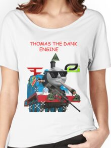 THOMAS THE DANK ENGINE MLG  Women's Relaxed Fit T-Shirt
