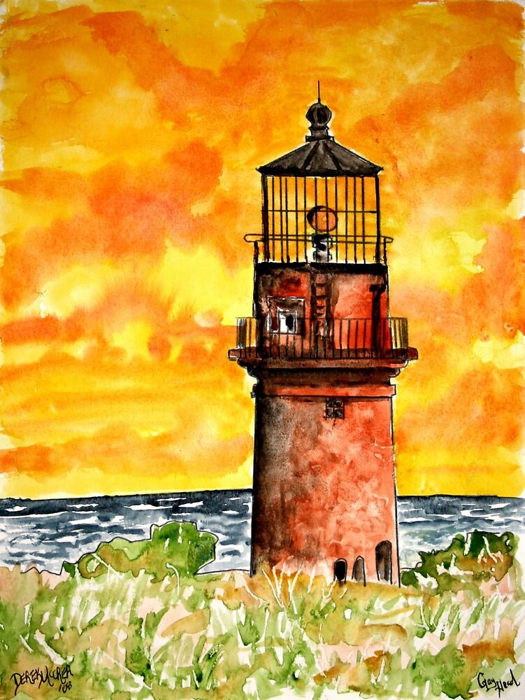 Gay Head lighthouse  by derekmccrea