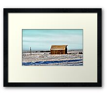 In The Morning Glow Framed Print