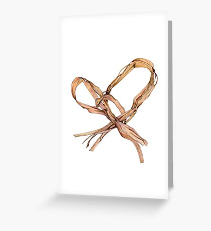 Twisted Twine Heart Greeting Card