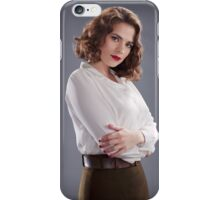 Peggy Carter iPhone Case/Skin