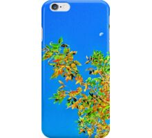 Tree and the moon iPhone Case/Skin