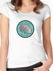 The Mighty Tardigrade Women's Fitted Scoop T-Shirt