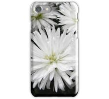 White Flowers After Rain iPhone Case/Skin