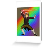 May the Force be with you! Greeting Card