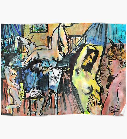 IN THE ARTISTS STUDIO(C2004) Poster
