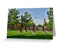 Oklahoma City National Memorial- HDR  Greeting Card