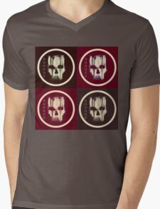 Abstract  Death 3 Mens V-Neck T-Shirt