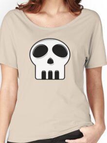 Cartoon Skull Women's Relaxed Fit T-Shirt