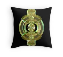 Incendia -- Sacred Gold Collection -- Altar Gold 2  Throw Pillow