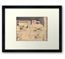 LATE EVENING(C2012) Framed Print