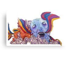 The Sea of Air (Portugal. The Man Inspired Art) Canvas Print