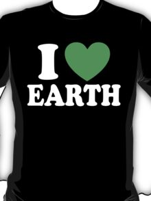 I Love Earth T-Shirt