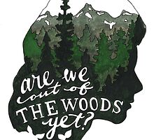 Out Of The Woods by bryandraws