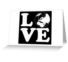 Love World Greeting Card
